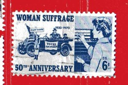 (Us2) USA °- 1970 - Féministes . Yvert . 898.  USED. - Stati Uniti