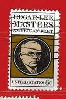 (Us2) USA °- 1970 - EDGAR LEE MASTERS . Yvert . 899.  USED. - Stati Uniti