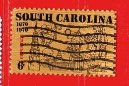 (Us2) USA °- 1970 - SOUTH CAROLINA . Yvert . 900.  USED. - Stati Uniti