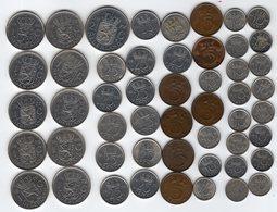 Pays-Bas / Nederland / Netherlands - Lot De 51 Monnaies - Pays-Bas