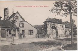 VILLENEUVE AUX CHEMINS   HOTEL BERTHY - Other Municipalities