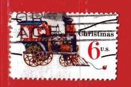 (Us2) USA °- 1970 - NOEL, JOUETS . Yvert . 907.  USED. - Stati Uniti