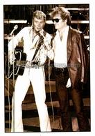 Carte Postale De Johnny HALLYDAY & Eddy MITCHELL (ST.JH.041) - Künstler
