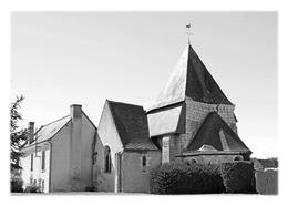 SOUVIGNY-DE-TOURAINE - Eglise Paroissiale Saint-Saturnin - France