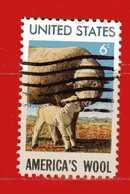 (Us2) USA °- 1971 - MOUTON . Yvert . 916.  USED. - Stati Uniti