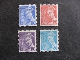 TB Serie N° 546 Au N° 549, Neufs XX. - France