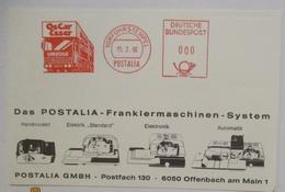Philatelie Postautomation Frankiermaschine System 1980 (20003) - Poste