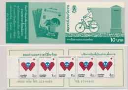 Thailande 1990 Red Cross Croix Rouge Carnet  MNH - Premio Nobel