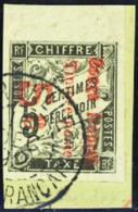 N° 8 5c Sur 5c Noir Bdf TB        Qualité:OBL Cote: 160 - Französisch-Kongo (1891-1960)