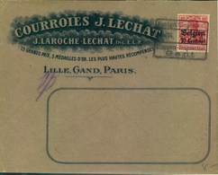 1918, Nice Advertising Cover From GENT - Guerra '14-'18