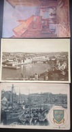 England........WHITBY.......The Ghaut, Harbour, Port...... Ca. -1930/50 -   Three Vintage Cards - Whitby