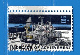 (Us2) USA °- 1971 - JEEP LUNAIRE . Yvert . 932  USED. - Stati Uniti