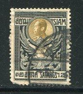 SIAM- Y&T N°99- Oblitéré - Siam