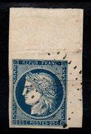 YT N° 4 Coin De Feuille Signé Calves - - 1849-1850 Ceres
