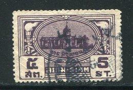 SIAM- Y&T N°226- Oblitéré - Siam