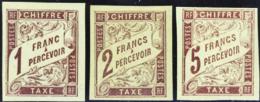 N° 15 /16/17  3 Valeurs      Qualité:* Cote: 230 - Postage Due