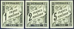 N° 1 /14  14 Valeurs  Qualité:* Cote: 1347 - Postage Due