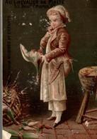 CHROMO  AU CHEVALIER DE MALTE On Tue Le Canard - Chromo