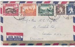 LSC - De ADEN Pour  LONDRES  1957 - Yémen