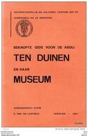 Beknopte Gids Voor De Abdij TEN DUINEN En Haar Museum - K. Van De Casteele - Histoire