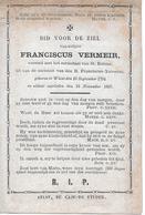 Vermeir Franciscus (wieze 1794 -1867) - Godsdienst & Esoterisme