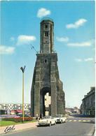 CPSM - Format 10,5 X 15 Cm - CARAVELLE, RENAULT Et 404 PEUGEOT, à CALAIS, Devant La Tour Du Guet - Turismo