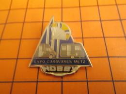 2319 PINS PIN'S / Beau Et Rare : Thème MARQUES / CARAVANES CAMPING-CARS HOBBY EXPO METZ - Banken