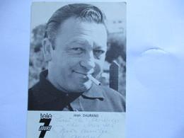 Photo Dedicacee Jean Daurand Les 5 Dernieres Minutes - Autografi