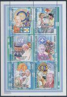 Centrafrique 2002 Red Cross Croix Rouge Lions Club Pope Jean Paul II Sir Alexandre FLEMING  MNH - Premio Nobel