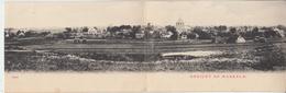 GEZICHT OP MARKELO - Carte Panoramique 3 Volets ( Moulin à Vent Windmolen )  PRIX FIXE - Pays-Bas