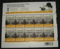 België - 2006 - L'Institut De Médecine Tropical Anvers 3552** - Instituut Voor Tropische Geneeskunde Antwerpen Pl 4 - Panes