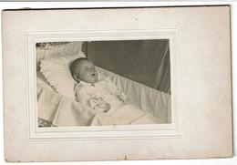 Photo Mortuaire - Bébé Mort - Post-mortem - Défunt - 2 Scans - Persone Anonimi