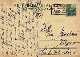 Intero C139 ; Roma 22-12-1942 ; Timbro A Targhetta - 6. 1946-.. Repubblica