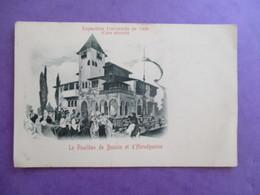 CPA EXPOSITION DE 1900 PAVILLON DE BOSNIE HERZEGOVINE - Bosnia And Herzegovina