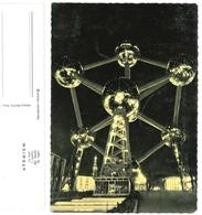 CPSM Bruxelles Atomium La Nuit - Brussel Atomium 's Nachts - Mostre Universali