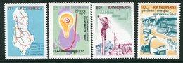 ALBANIA 1970 Electrification Plan MNH / **.  Michel 1448-51 - Albanie