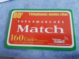 Rare Telecarte Prépayée 80 Francs  Outremer Télécom - France