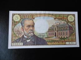 5 FRANCS PASTEUR 07.12.1967 - TTB+ - 1962-1997 ''Francs''