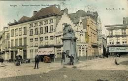 CPA - Belgique - Brugge - Bruges - Pompe Historique - Marché-aux-oeufs - Brugge