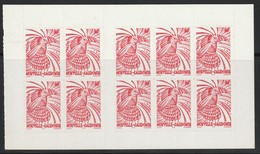 NOUVELLE CALEDONIE - 1998 - CARNET N° C748 ** Le Cagou : (70f) Rouge Adhésif - Booklets