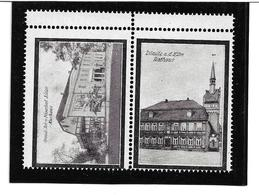 4105k: Vignetten- Reklamemarken Dömitz An Der Elbe, ** Aus Ca. 1912 - Dömitz