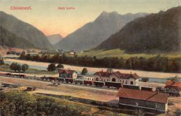 CALIMANESTI - Gara Lotru - Ed. Ad. Maier & D. Stern. - Rumänien