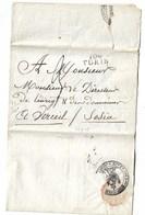 Empire  Turin  VERCEIL  1809  Voir Scans - Historical Documents