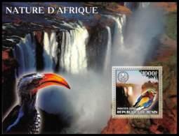 1106 Bloc Oiseaux (bird Birds Oiseau) Neuf ** MNH Tirage Privé Vignette Scout (scouting - Jamboree) 2006 - Benin – Dahomey (1960-...)