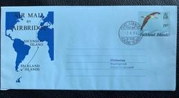 9828 - Falkland Islands  Air Mail By Airbridge Port Stanley 02.04.1984 - Falklandinseln