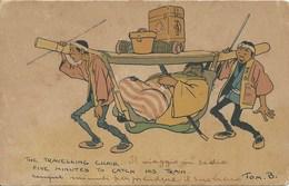 GERMANIA 1910 - CARTOLINA SPEDITA DA HANKOU E DIRETTA IN ITALIA - - Offices: China