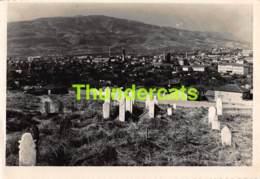 CPSM PHOTO MACEDONIE MACEDOINE SKOPJE CIMETIERE TIRQUIE TURKEY - Macédoine