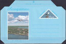 ALAND 1996 Brief Ganzsache Aerogramme Ungelaufen - Ålandinseln
