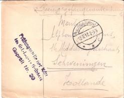 Lettre De Prisonnier Du 12/06/1917 - Militaria