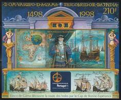 NOUVELLE CALEDONIE - 1998 - BLOC N° 20 ** Vasco De Gama - Blocchi & Foglietti
